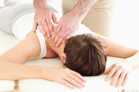 massage therapy from chiropractor in brookline